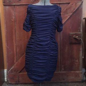 Taylor navy dress